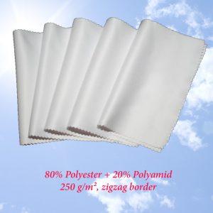 Brillenputztücher (Weiß)