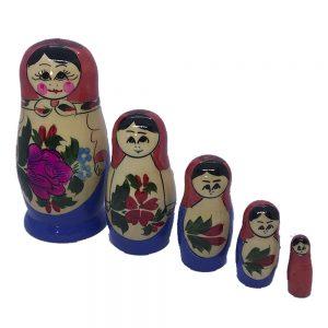 Matroschka - Holz Puppen