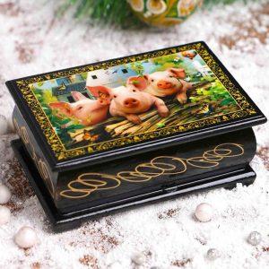 Schmuckkästchen – Ferkel des neuen Jahres