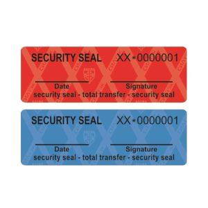 Sicherheitssiegel – Transfer Typ (Security Seal)